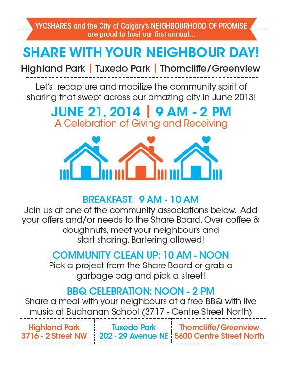 Neighbor Day Celebrations at Tuxedo Park Community June 21, 2014
