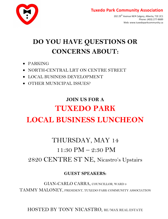 Tuxedo Park_Local Business Luncheon Invite