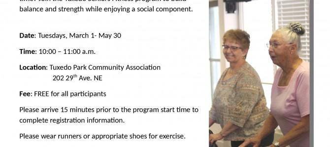 Tuxedo's Senior Fitness Program