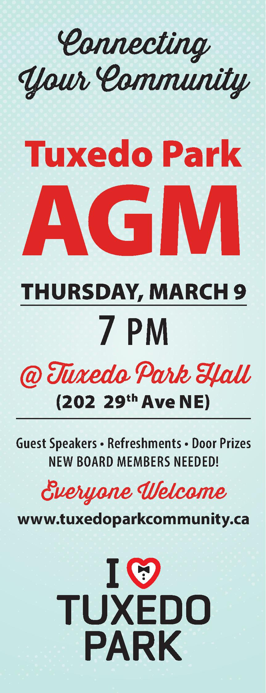 Tuxedo Park's 2017 Annual General Meeting