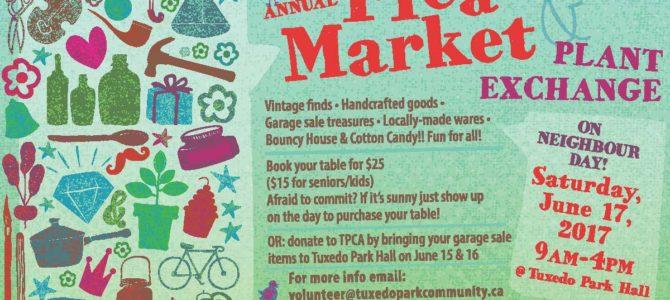 Annual Flea Market and Neighbor Day Celebration