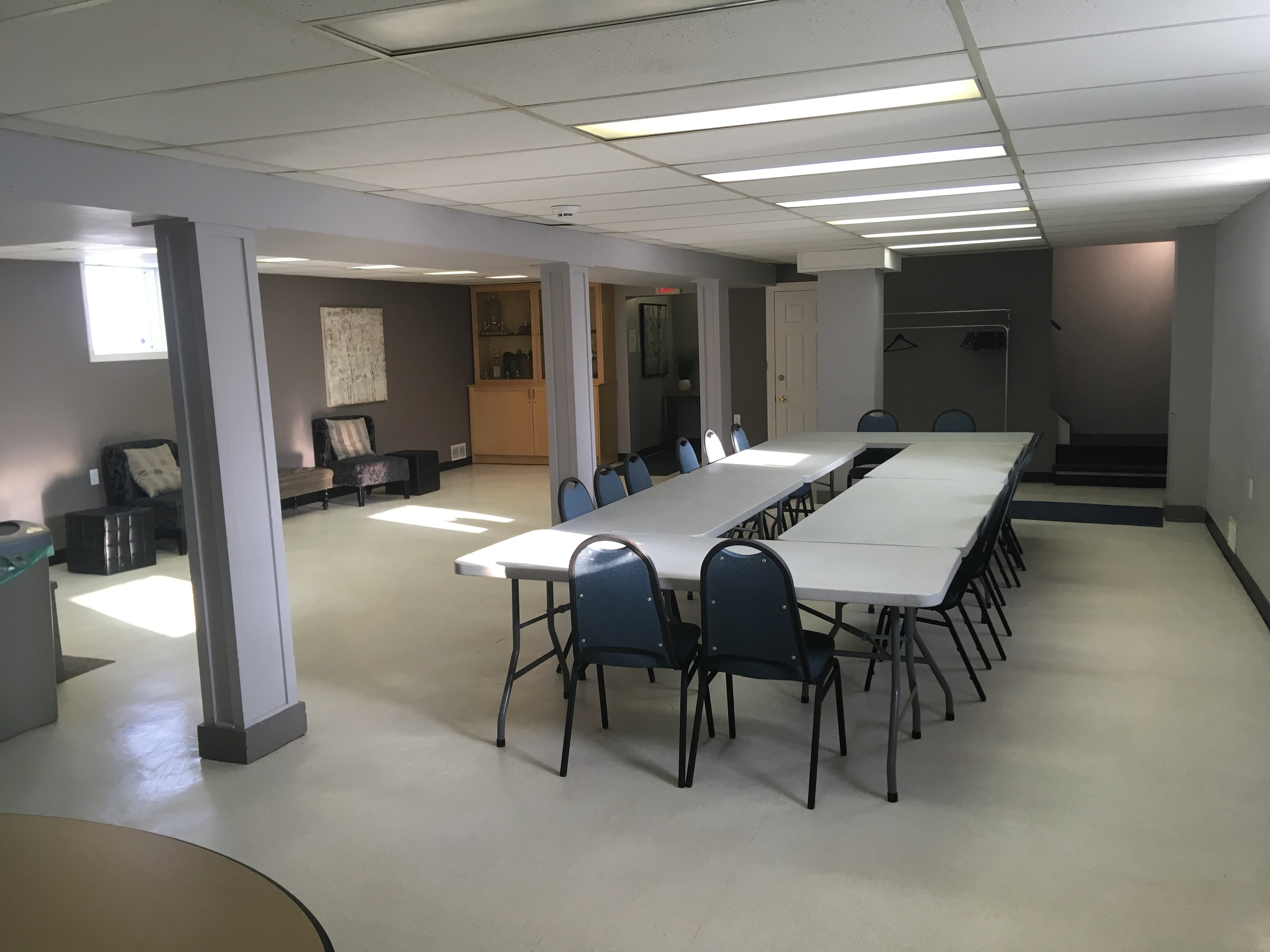 Tuxedo Park Community Hall Lower for Rent board room style