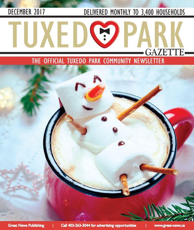 Tuxedo's December 2017 Newsletter